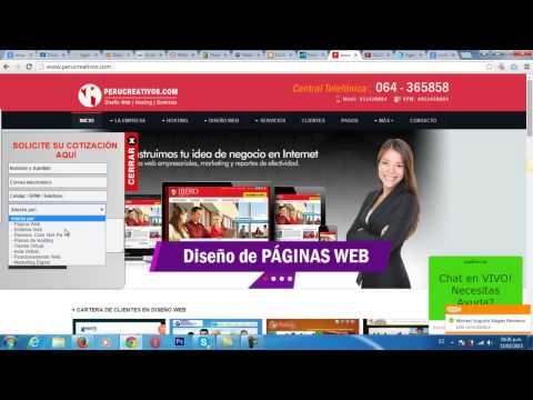 Diseño de Paginas WEB en HUANCAYO