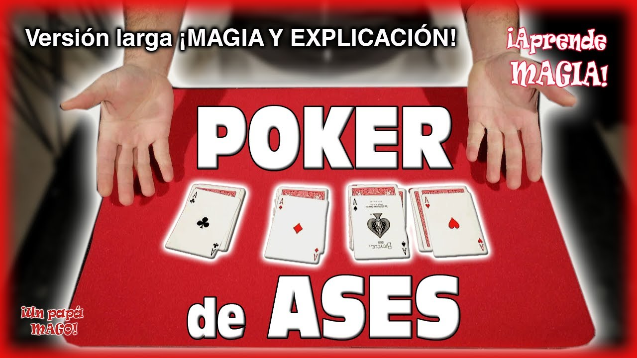 TRUCO DE MAGIA | POKER DE ASES | APRENDE MAGIA | CARTOMAGIA | Is Family Friendly