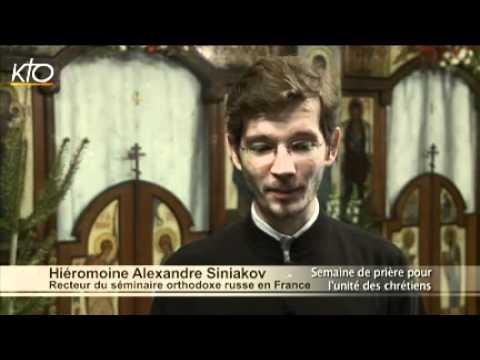 Père Alexandre Siniakov, recteur du séminaire orthodoxe russe