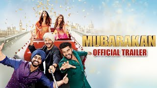 Mubarakan Trailer Ft leana D Cruz , Athiya Shetty  Anil Kapoor , Arjun Kapoor