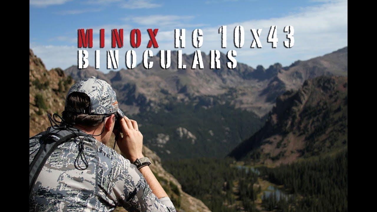 Видео о товаре Бинокль MINOX HG 10x43 BR (Арт. 62056)