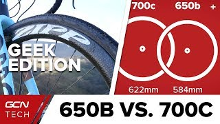 650B Vs. 700C: The Geek Edition | GCN Tech Does Science