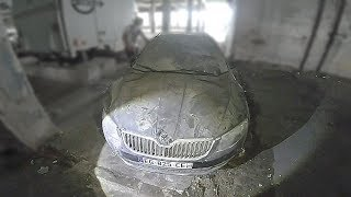 We found lots of FOREIGN Cars in ABANDONED Building. (Highlights)