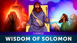 The Wisdom of King Solomon - I Kings | Sunday School Lesson and Bible Story For Kids |HD| Sharefaith