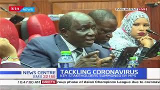 MPs furious as CS Matiang'i and James Macharia skip health committee summoning