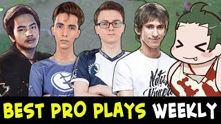 Best PRO plays of the week #12 — Miracle, InYourDream, Dendi