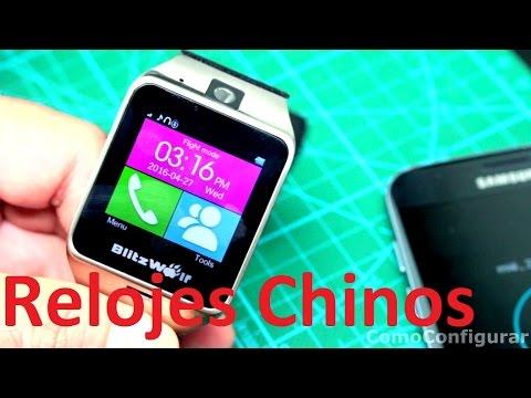 Relojes Inteligentes Chinos Baratos - Relojes inteligentes precios $40 USD