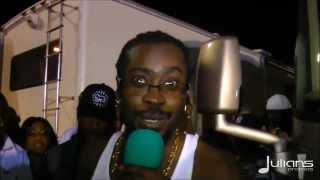 2013 Reggae World Unity Concert - Beenie Man Post Interview & Performance 1-20-2013