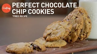Homemade Chocolate Chip Cookies (with Free Recipe) | Baking Tutorial With Zoë François