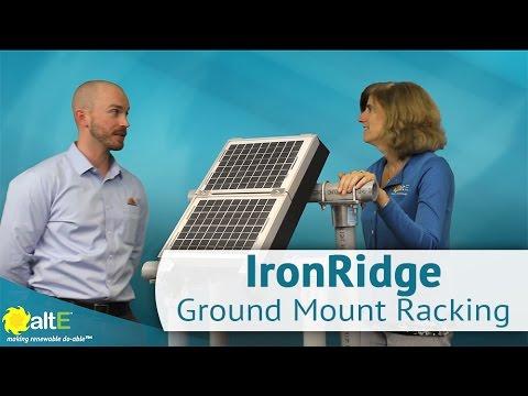 IronRidge Ground Mount Racking Solutions
