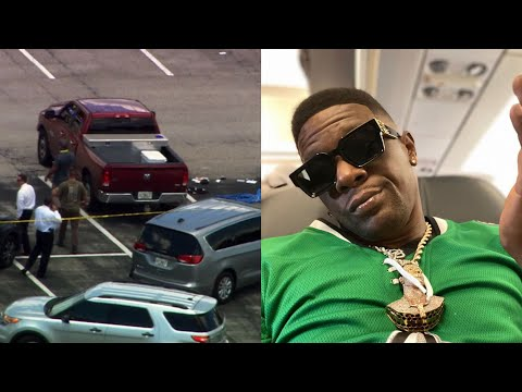 Boosie Gets 🔫 At After Attending Mo3 Memorial In Dallas TX!?