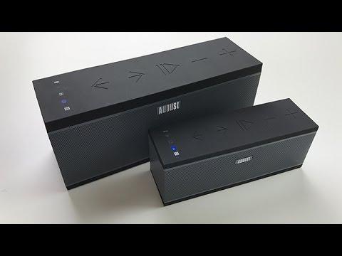 Besser als ein Bluetooth Lautsprecher? August WS150 & WS300 - Wireless Sound System - Dr. UnboxKing