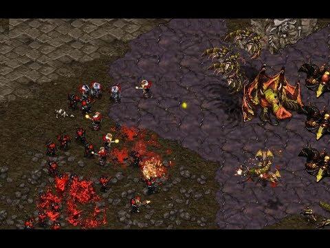anyrace (T) v InControl (Z) on Fighting Spirit - StarCraft  - Brood War REMASTERED