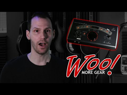 Behringer Xenyx Control2USB - Best Home Studio Gear Ever?