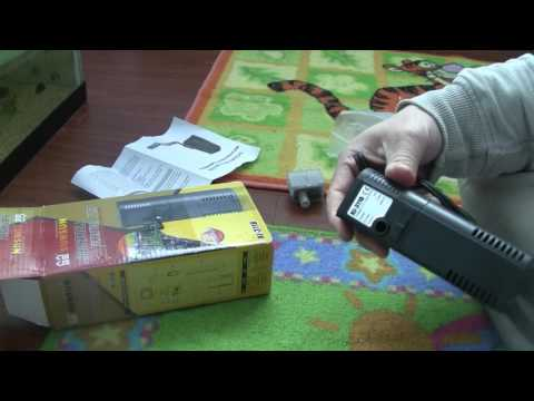 Unboxing review of Sunsun Submersible Filtration Pump for fresh/salt water aquarium