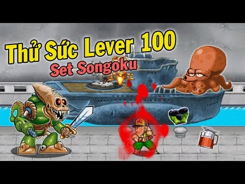 Ngọc Rồng Online - Thử Sức Cùng Set Songoku Trong Hang Vàng Lever 100 !