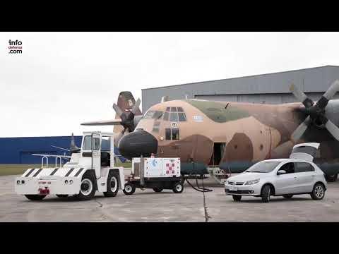 Uruguay ya emplea los aviones KC-130H Hercules adquiridos a España