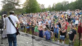 Sights and Sounds from Griffis Sculpture Park 2017 10,000 Maniacs concert