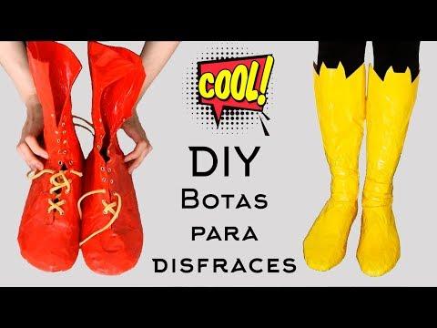Cómo hacer botas de superheroes I Craftabulous