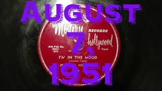 78rpm: I'm In The Mood - John Lee Hooker, 1951 - Modern 835