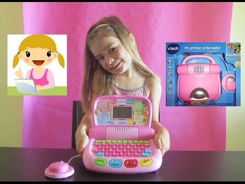 Ordenador Educativo rosa de VTECH - Juego educativo - Computer Education