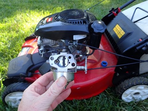 Toro Recycler Model 20370 Lawn Mower Kohler 6.75 Engine - Cleaning Carburetor Part II - June 16,2016