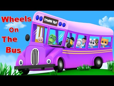 Wheels On The Bus | Junior Squad | Cartoon Videos For Babies By Kids Tv