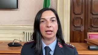Il comandante della Polizia Municipale Annalisa Maritan