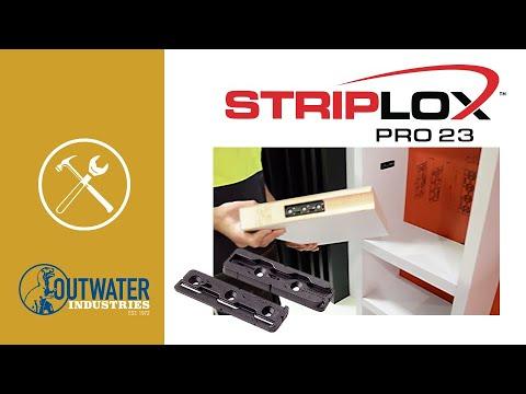 Black Striplox Pro 23 Connector