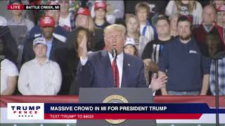 President Trump: I Am The First President To Be Impeached Where There's No Crime