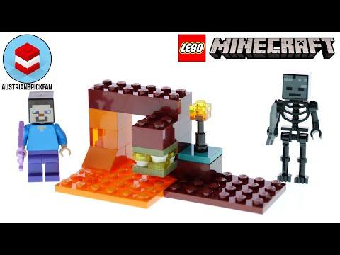 Vidéo LEGO Minecraft 30331 : The Nether Duel (Polybag)