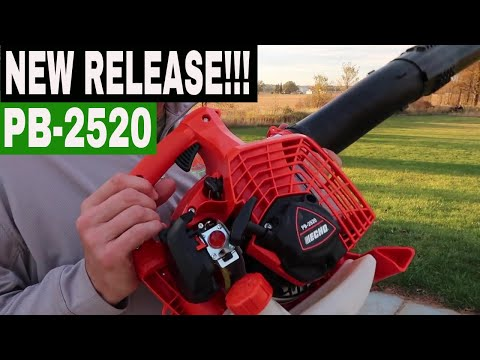 ECHO PB-2520 HANDHELD LEAF BLOWER REVIEW