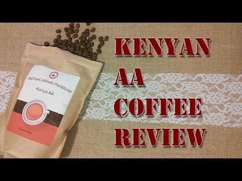 Kenya AA Coffee Review