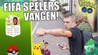 FIFA SPELERS VANGEN MET POKEMON GO!! HET BEGIN #1
