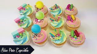 Easy Birthday Party Cupcakes | Tutorial