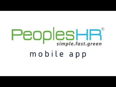 PeoplesHR Mobile | One app to save everything!
