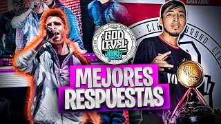 Las MEJORES RESPUESTAS De TODAS Las GOD LEVEL FEST 2019 (México, Chile, Perú)