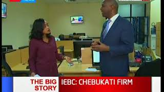 IEBC chair Wafula Chebukati insists the commission is fit - The Big Story