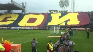 Pogoń - Legia 0:0 - oprawa 9.04.2016