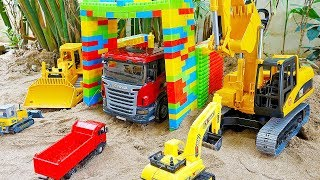 Car Toy Magic Transformer Construction Vehicles Excavator Wheel Loader