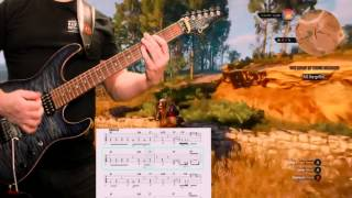 Judas Priest Night Comes Down Guitar Cover With Tablature