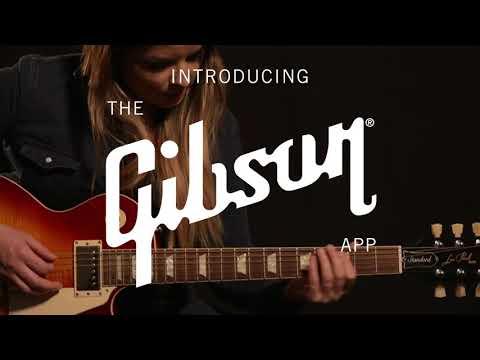 אפליקציית סמארטפון עם שיעורי גיטרה AR מ-Gibson