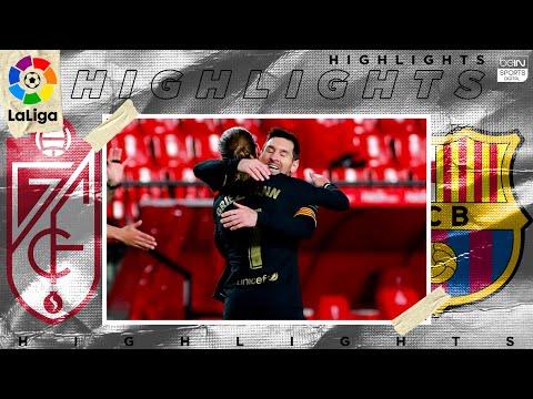 Granada 0 – 4 Barcelona – HIGHLIGHTS & GOALS – 1/9/2021