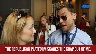 """NSYNC's Lance Bass: """"The Republican Platform Scares the Crap Out of Me"""""""