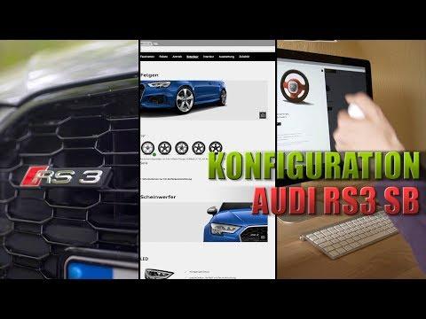 Audi RS3 Sportback Konfigurationsempfehlung | KFZ Versicherung | Steuern