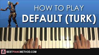 FORTNITE - Default Dance Music (Piano Tutorial Lesson)