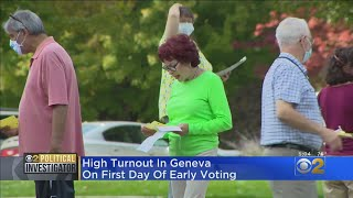 High Turnout In Geneva As Early Voting Begins In Illinois