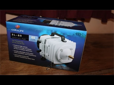 Coralife SL-65 Super Luft Pump Review