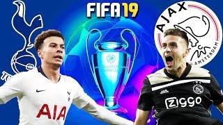 FIFA 19 | สเปอร์ส VS อาแจ็กซ์ | UCL รอบ 4 ทีมสุดท้าย นัดแรก !! มันส์ก่อนจริง 30/4/2019