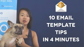 10 Email Marketing Template Design Tips In 4 Minutes